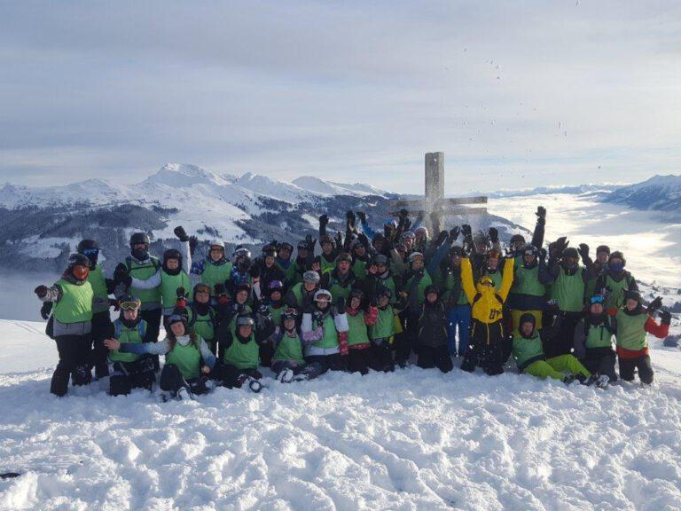 Gruppenbild Skifreizeit