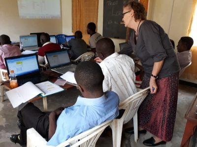 EDV Schulung mit Lehrern