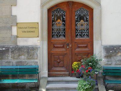 Eingang Villa Schöneck